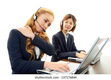 Customer services operators