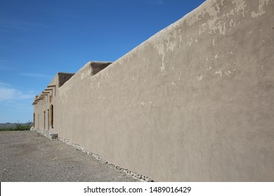 Customizable long wall in the Big Bend Ranch State Park far west Texas