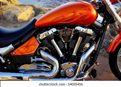 Customized motorcycle