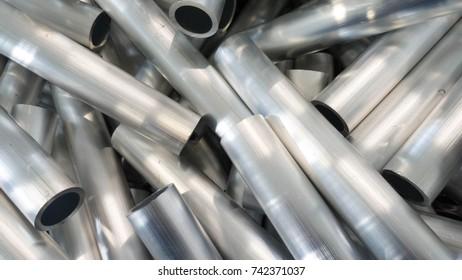 cut aluminum tube