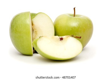 Cut apple for healthy eating