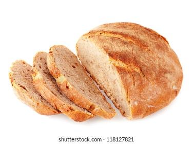 Cut artisan bread