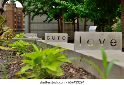 Cut out cure sign.