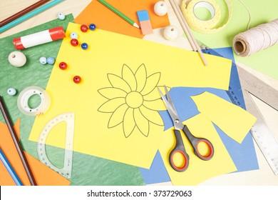 Cut out a flower