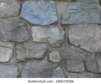 Cut Rock Wall Textured Background