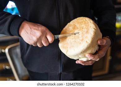 Cut slava Bread