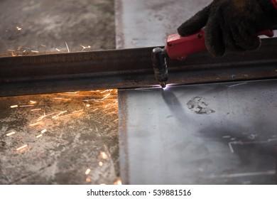 Cut steel with heat