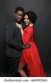 Cute African couple