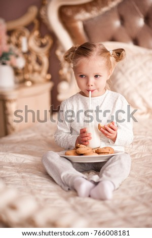 Cute Baby Girl 34 Year Old Stock Photo Edit Now 766008181
