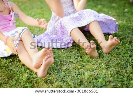 Cute feet and legs