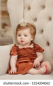 Cute beautiful little baby girl
