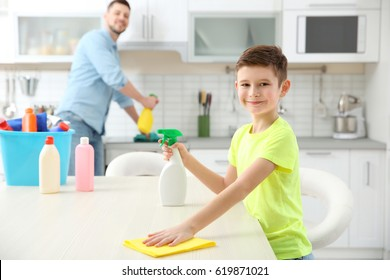 Boy Cleaning Images, Stock Photos & Vectors | Shutterstock