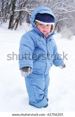 e8f315161 Cute Boy Snowsuit Stock Photo (Edit Now) 62706205 - Shutterstock