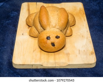 Cute bunny bread is a must at our house during the Easter season.