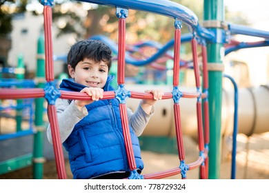 Cute child at the playground