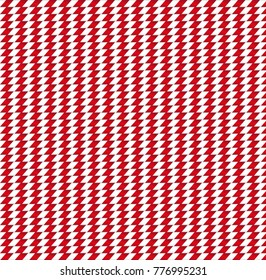 Cute Christmas or new year background with red and white striped zig zag pattern background.  illustration, banner, template for design.