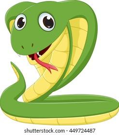 cute Cobra cartoon