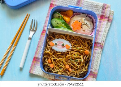 cute and delicious-looking bento box
