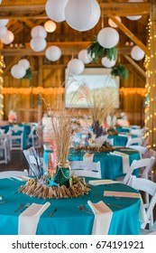 Cute, Fun, Handmade. Beach Themed Ocean Wedding Reception Decorations