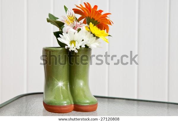 Clog Garden Planter