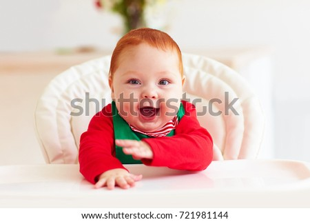 c9a3fd7ad1be Cute Happy Infant Baby Boy Elf Stock Photo (Edit Now) 721981144 ...