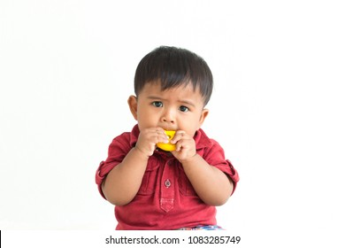Cute little baby bite toy