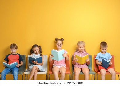 Kids Reading A Book Images Stock Photos Vectors