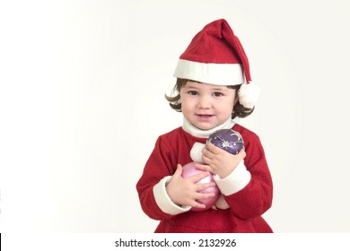 Cute little Christmas Girl :: please take a look at my other photo's with this little girl ::