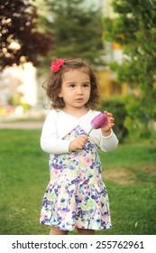 cute little girl