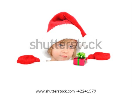 Cute Little Girl Sad Because Small Stock Photo (Edit Now) 42241579 - Shutterstock