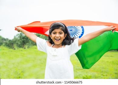 Kid Indian Flag Images Stock Photos Vectors Shutterstock