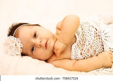 cute little newborn baby