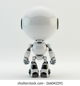 Cute little robotic characters