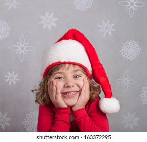 Cute little Santa Claus