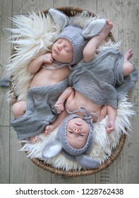 cute little twins