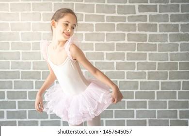 Pink Ballet Tutu leotard Dance Skirt Shoe Design Costume Outfit Ballerina Girls