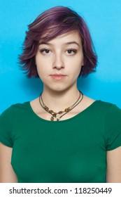 Short Hair Teen Girl Images Stock Photos Vectors Shutterstock