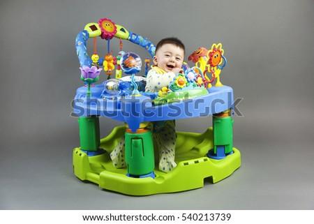 3d695b3db Cute Multiracial Asian Caucasian Smiling Baby Stock Photo (Edit Now ...