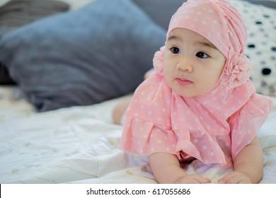 muslim baby girl images stock photos vectors shutterstock
