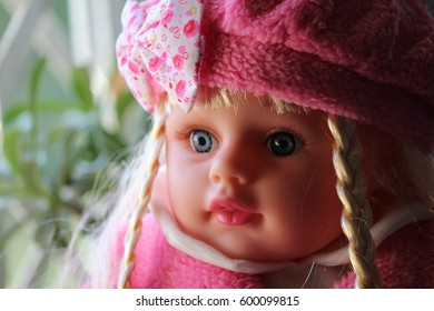 Cute Pink Doll for kids