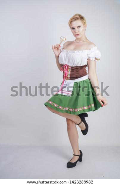 Shared double penetration fishnet miniskirt