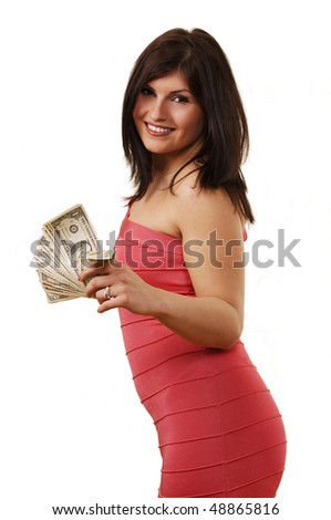 Sexy girls with money