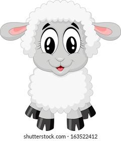 cartoon lamb images stock photos vectors shutterstock rh shutterstock com Cartoon Sheep leg of lamb cartoon images