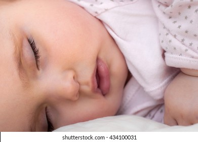 Cute sleeping baby