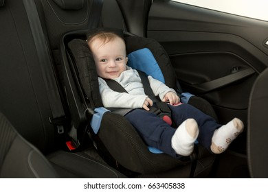 Similar Images Stock Photos Vectors Of Cute 6 Months Old Baby Car