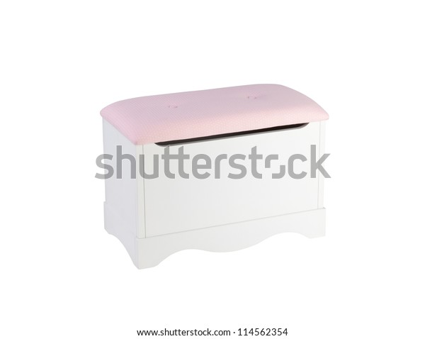 Cute Stool Chair Designed Have Box Stock Photo Edit Now 114562354