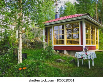 Cute summer cabin