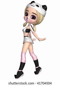 Cute Toon Figure