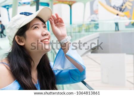 Cute girl young thai teen