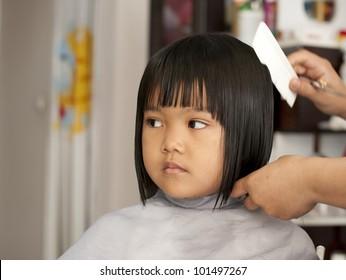 Enjoyable Little Girl Haircut Images Stock Photos Vectors Shutterstock Schematic Wiring Diagrams Phreekkolirunnerswayorg